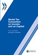 Cover of Model Tax Convention on Income and on Capital 2014. Full Version