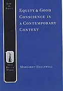Cover of Equity and Good Conscience in a Contemporary Context