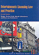 Cover of Entertainments Licensing Law and Practice