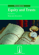 Cover of Old Bailey Press: Equity and Trusts Textbook