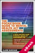 Cover of The Pocketbook Guide to Mental Health Act Assessments (eBook)