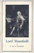 Cover of Lord Mansfield
