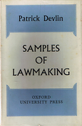 Cover of Samples of Lawmaking
