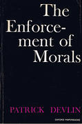 Cover of The Enforcement of Morals