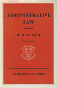 Cover of Administrative Law 2nd ed