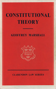 Cover of Constitutional Theory