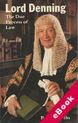 Cover of The Due Process of Law (eBook)
