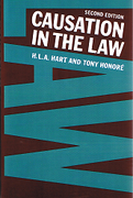 Cover of Causation in the Law