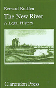 Cover of The New River: A Legal History