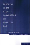 Cover of European Human Rights Convention in Domestic Law: A Comparative Study