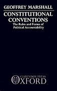 Cover of Constitutional Conventions