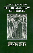 Cover of The Roman Law of Trusts