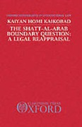 Cover of Shatt Al-Arab Boundary Question