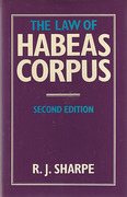 Cover of The Law of Habeas Corpus