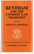 Cover of Bentham and the Common Law Tradition