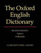 Cover of The Oxford English Dictionary: Vols 1-20