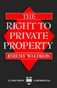 Cover of The Right to Private Property