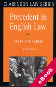 Cover of Precedent in English Law (eBook)