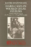 Cover of Hard Cases in Wicked Legal Systems: South African Law in the Perspective of Legal Philosophy