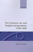 Cover of The Common Law and English Jurisprudence, 1760-1850