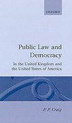 Cover of Public Law and Democracy in the United Kingdom and the United States of America