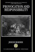 Cover of Provocation and Responsibility
