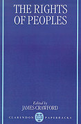 Cover of The Rights of Peoples