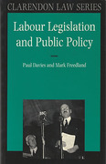 Cover of Labour Legislation and Public Policy