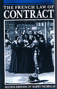 Cover of The French Law of Contract