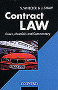 Cover of Contract Law: Cases, Materiasl and Commentary
