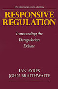 Cover of Responsive Regulation: Transcending the Deregulation Debate