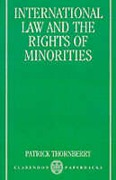 Cover of International Law and the Rights of Minorities