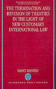 Cover of The Termination and Revision of Treaties in the Light of New Customary International Law