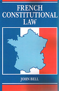 Cover of French Constitutional Law