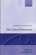 Cover of The Uses of Discretion