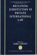 Cover of Declining Jurisdiction in Private International Law