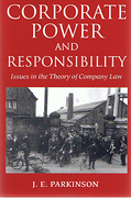 Cover of Corporate Power and Responsibility: Issues in the Theory of Company Law