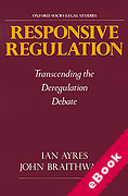 Cover of Responsive Regulation: Transcending the Deregulation Debate (eBook)