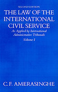 Cover of The Law of the International Civil Service 2nd ed: Volume 1