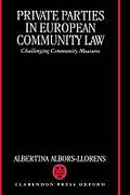 Cover of Private Parties in European Community Law: Challenging Community Measures