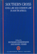 Cover of Southern Cross: Civil Law and Common Law in South Africa