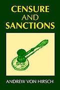 Cover of Censure and Sanctions