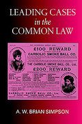 Cover of Leading Cases in the Common Law