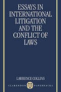 Cover of Essays in International Litigation and the Conflict of Laws