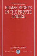Cover of Human Rights in the Private Sphere