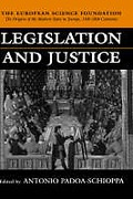 Cover of Legislation and Justice