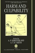 Cover of Harm and Culpability