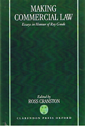 Cover of Making Commercial Law: Essays in Honour of Roy Goode