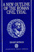 Cover of A New Outline of the Roman Civil Trial