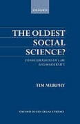Cover of The Oldest Social Science? Configurations of Law and Modernity